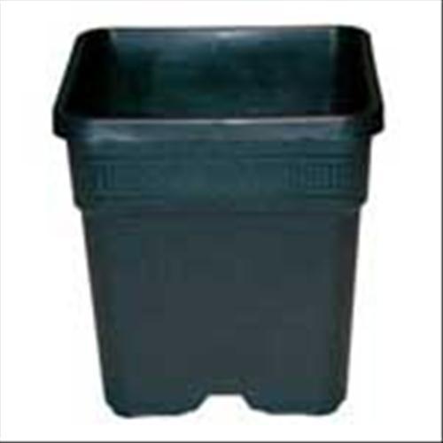 vaso quadrato in plastica