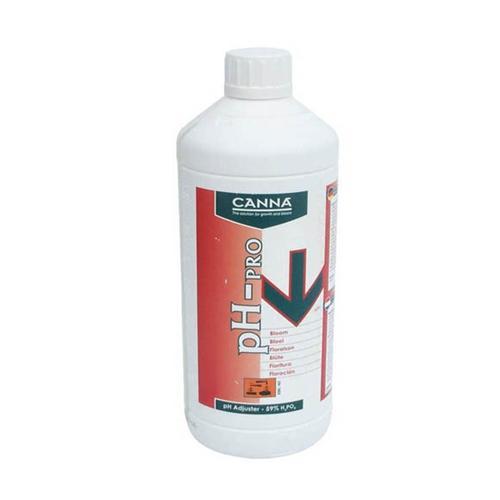 CANNA - PH DOWN PRO CONCENTRATO 59% PER FIORITURA 1L