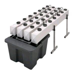 GHE AEROFLO 60 PIANTE - 3MQ (CL41007 + CL41010 + CV07003/RE05001 = VASCA + COPERCHIO)