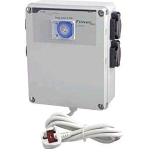 TIMER BOX QUADRO ELETTRICO 4X600 WATT
