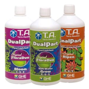 GHE/T.A. - STARTER KIT DUALPART SOFT WATER 3X500ML